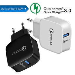 $enCountryForm.capitalKeyWord Australia - QC 3.0 Fast Wall Charger USB Quick Charge 5V 3A 9V 2A Travel Power Adapter Fast Charging US EU Plug for iPhone 7 8 X Samsung Huawei Phone