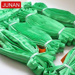$enCountryForm.capitalKeyWord Australia - 2019 new promotional products 5m 5ton green polyester soft round lifting webbing sling China manufacturer