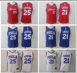 $enCountryForm.capitalKeyWord Australia - Youth Philadelphia New Season 76ers Jersey Joel Embiid Ben Simmons Reward Edition Baketball Jerseys