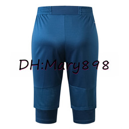 Wholesale half elastic waist pants for sale - Group buy Any men Half pants training Soccer Jersey Training suit kits need to contact Inquiry whether there is inventory