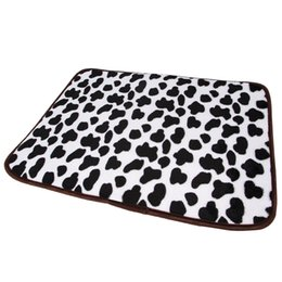 Small Coolers Wholesale NZ - Cow | Pet Dog Mat,Pet Dog Cooling Mat,Cat Puppy Chilly Ice Cooler Summer Sleeping Bed,Dogs Cushion Crate Mat Pillow Beds