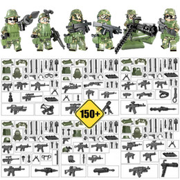 bricks toys army 2019 - Armed Troop CF Mini Toy Figure Jungle Commandos Camouflage Army Building Block Brick Military Toy