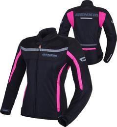$enCountryForm.capitalKeyWord Australia - BENKIA Women Motorcycle Jackets Breathable Mesh Moto Jacket Female Motocross Racing Jacket with Protectors Motorbike Riding Coat
