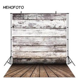 Discount spray painted backdrop - Wood Floor Backdrop for Photography Studio Vintage Wooden Board Photo Background Newborns Photobooth Photographic Props