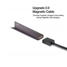 Pen Connection Australia - Wholesale USB Charger for Juul Vaporizer Vape Pen Pod Kit Compatible Portable With magnetic Connection 800mm Design Vapor Ecig