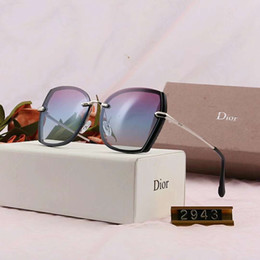 $enCountryForm.capitalKeyWord Australia - Designer Sunglasses Luxury Sunglasses Stylish Brand Fashion Polarized for Women Glass UV400 with Box and Logo 2943 High Quality