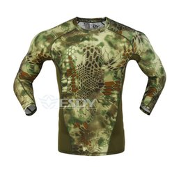 $enCountryForm.capitalKeyWord Australia - Men Sport Breathable Fitness Long Sleeve Shirts Outdoor Quick-dry Hiking Hunting Shirts Male Camouflage Combat T-shirt