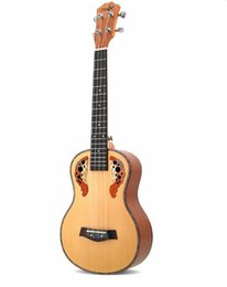 26 inches ukulele online shopping - inch ukulele four string small guitar spruce grape hole beginners introduction to musical instruments factory direct