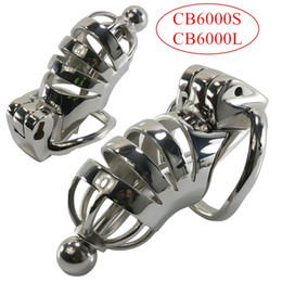 $enCountryForm.capitalKeyWord Australia - Male Chastity Device Cock Cage Penis Rings Stainless Steel Penis Sleeve Cage Metal Bondage Chastity Lock Adult Game for Men G7-1-227