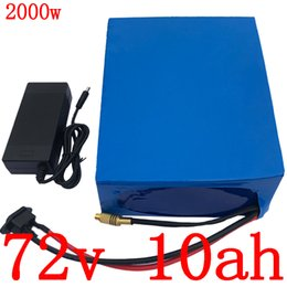 72 battery Australia - 72 72V 10ah lithium battery V 1000W 1500W 2000W electric scooter battery 72V 10AH batttery with 84V electric bicycle charger