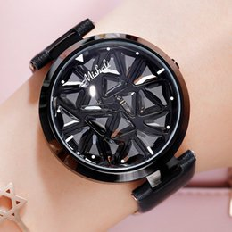 $enCountryForm.capitalKeyWord Australia - TT Spin Watch Female Casual Authentic Big Dial Rotating Fashion 360° Rotating Watch Trend Personality Atmosphere Simple Watch