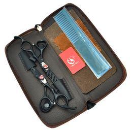 "Bangs Hair Salon Australia - Meisha 6.0"" Japan Salon Barbers Scissors Set Professional Hairdressing Cutting & Thinning Shears Bangs Tesoura Hair Styling Tools HA0073"