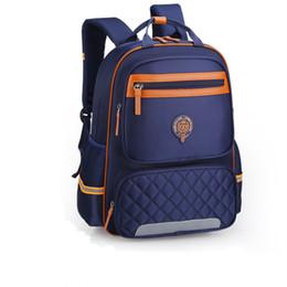 Korean School Children Australia - 2019 Korean Lightweight Nylon Student School Bags for Teen Boys and Girls waterproof orthopedic children backpack Schoolbags