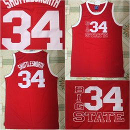 $enCountryForm.capitalKeyWord Australia - Ray Allen Film Mens #34 Jesus Shuttlesworth Movie Basketball Jersey 100% Stitched Above The Rim Moive Red S-3XL Fast Shipping