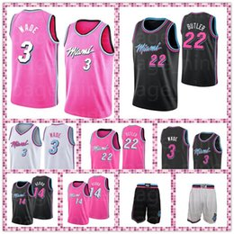$enCountryForm.capitalKeyWord Australia - Heat Butler Dwyane Basketball Shorts Jimmy Jerseys 14 tyler Herro 3 Wade Men and Youth Stitched Miami jerseys