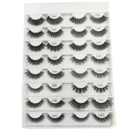 Discount private labels - wholesale best price mink lashes real mink eyelash with Fashion design 16 pairs mink eyelash book private label book
