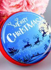Livraison gratuite porte-monnaie de Noël et fer-blanc de bande dessinée cadeau de Noël cadeau pour enfants petit pendentif jouet décorations