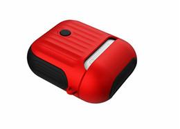 $enCountryForm.capitalKeyWord Australia - Headphone Case for Apple Airpods Soft TPU   Hard PC Headphones Accessories Shockproof Protection Wireless Bluetooth Case Skin Travel Case
