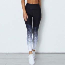 d4173107ef4ab Stamping Womens Yoga Pants Athletic Gym Yoga Active Wear High Waist Sports  Ladies Running Pants Tights Trousers Leggings