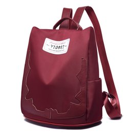 9db13c4aace6 Unisex School Bag Waterproof Nylon Brand New Schoolbag Business Women  Backpack Polyester Bag Shoulder Bags Computer backpack