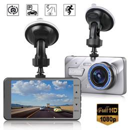 "Vehicle Rearview Camera Australia - 4"" Vehicle 1080P Car Dashboard DVR Camera Video Recorder G-Sensor Dash Cam Car DVR Free Shipping"