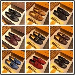 Shoe Models For Men Australia - New! model New sell Italian designer mens dress shoes men luxury loafers Doug shoes for male Man point toe dress shoe Casual shoes si