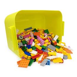 Toys Bricks Australia - HIPSTEEN Children Multi-function Brick storage toy box Organizer Container Building Block Storage Case Home Boxes Bins
