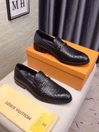 Painted floors online shopping - Men Pedal Lazy Light Slip on Loafers Male Leather British Business Dress Dressing Coat Of Paint The shoes wan2