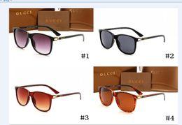 Hard drive brands online shopping - Brand design Hot sale half frame sunglasses women men Club Master Sun glasses outdoors driving gucci glasses