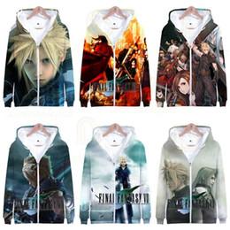 Wholesale boys zipped hoodies online – oversize Game Fashion Hoodie Anime Men Hoodies Boy Sweatshirts Boy Hoodies Male Zip Up Hoodie Dropshipping