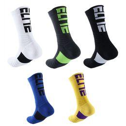 68e002c50e8 Hot Sale Designer Elite Basketball Socks Men Anti-Slip Thicken Sport Socks  Running Bicycle Stockings Football Socks High Quality Sox