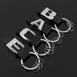 $enCountryForm.capitalKeyWord Australia - 3D New Metal leather car keychain for Mercedes benz Tail model emblem key ring For Mercedes Benz AMG BRABUS C E B A Class accessories