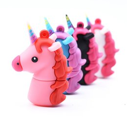 $enCountryForm.capitalKeyWord Australia - Cartoon Unicorn Usb Flash Drives Cute Horse Animal Pen Drive 4gb 8gb 16gb 32gb 64gb Memory Stick Pendrives