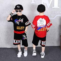 $enCountryForm.capitalKeyWord Australia - Childrens Suit BoysShort Sleeve Loose Summer Style Korean Version Two Kids Leisure Sportswear Trend