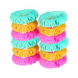 $enCountryForm.capitalKeyWord Australia - Hairdress Magic Bendy Hair Styling Roller Curler Spiral Curls DIY Tool 8 Pcs