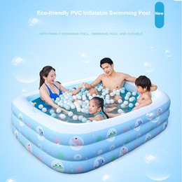 $enCountryForm.capitalKeyWord UK - Novelty Bright Color Pool Floating Chair baby child eco-friendly PVC swimming pool wholesales 1.2M-2.0M inflatable padded bottom