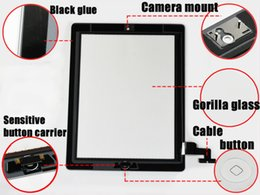 $enCountryForm.capitalKeyWord Australia - Touch Screen Digitizer Assembly For iPad 3 4 2 5 Mini 1 2 3 with Home button Camera Holder adhesive