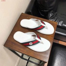 $enCountryForm.capitalKeyWord Australia - Men Leather Slipper Sandals, Designer Flip Flops,Loafers For Men Outdoor Anti-slipping Quick-Cheap and fine shoes