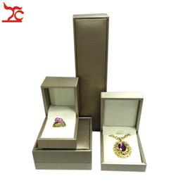 $enCountryForm.capitalKeyWord Australia - Jewelry Box Gift Storage Necklace Bangle Organizer Case Wedding Propose Ring Box