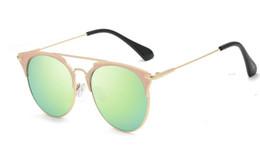 Glasses Female Titanium Australia - 2019mj3 new sunglasses anti-UV version of the tide star with the polarized sunglasses female round face men driving glasses glass
