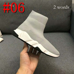 $enCountryForm.capitalKeyWord Australia - Brand Sock Boots for men women Speed Trainer Black Fashion Socks Boots Sneaker Trainer shoes 34-44 with 2 words or 10 words brand