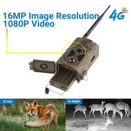 Gsm Gprs Gps Australia - 4G Hunting camera GPS FTP 16MP Email with Infrared Hunting Game Deer Trail Camera support MMS GPRS GSM Photo traps 4G Night vision
