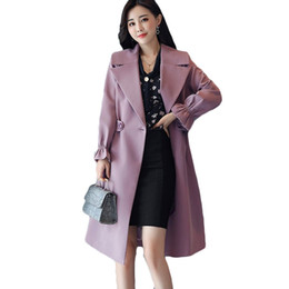 a5be9f4d4 Shop Korean Trench Coat Plus Size UK | Korean Trench Coat Plus Size ...