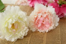 $enCountryForm.capitalKeyWord Australia - Souvenirs New Artificial Flowers Silk Peony Flower Heads Party Wedding Decoration Supplies Simulation Fake Flower Decorations 12cm Wholesale