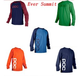 Riding bikes online shopping - Motorcycle Apparel Cross country sweater mountain bike riding cycling suit POC downhill coat motorcycle suit racing suit series