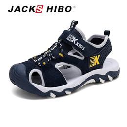 $enCountryForm.capitalKeyWord Australia - Jackshibo Kid Sandals Summer Cut-outs Sandals Beach Close Toe Sandals For Child Water Shoes Anti-skid New Design For Children Y19062001