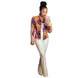 $enCountryForm.capitalKeyWord Australia - 2017 Women Spring Autumn Long Sleeve Coat Fashion African Print Stand Collar Dashiki Short Casual Jacket Cardigan Coat Plus