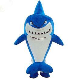 $enCountryForm.capitalKeyWord UK - Factory Outlets Hot Sale classical Shark pretty girl doll Halloween Fancy Dress Cartoon Adult Animal Mascot Costume free shipping