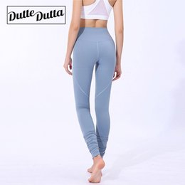 86b460a7b17ae Womens Athletic Tanzen Leggins Sport Yoga Hosen Sportbekleidung Frauen Hohe  Taille Fitness Flex Enge Laufende Gym Leggings Activewear