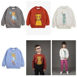 $enCountryForm.capitalKeyWord NZ - Zmhyaoke 2018 Winter Boys Girls Baby Long Sleeve Leopard Print T-shirt Children's Tshirt Tops Tee Y190518